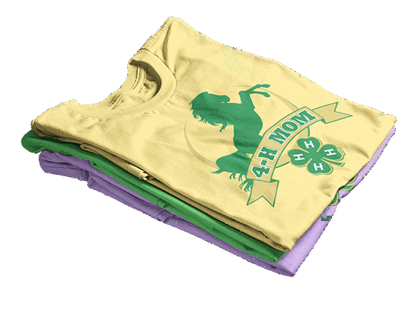 4-h graphic tees