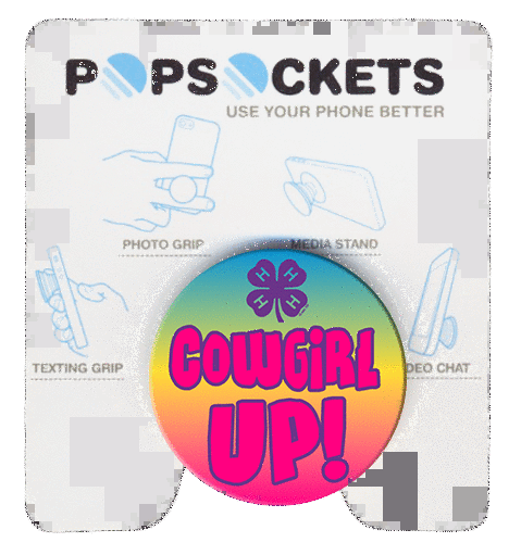 4-H Popsockets for back of phones