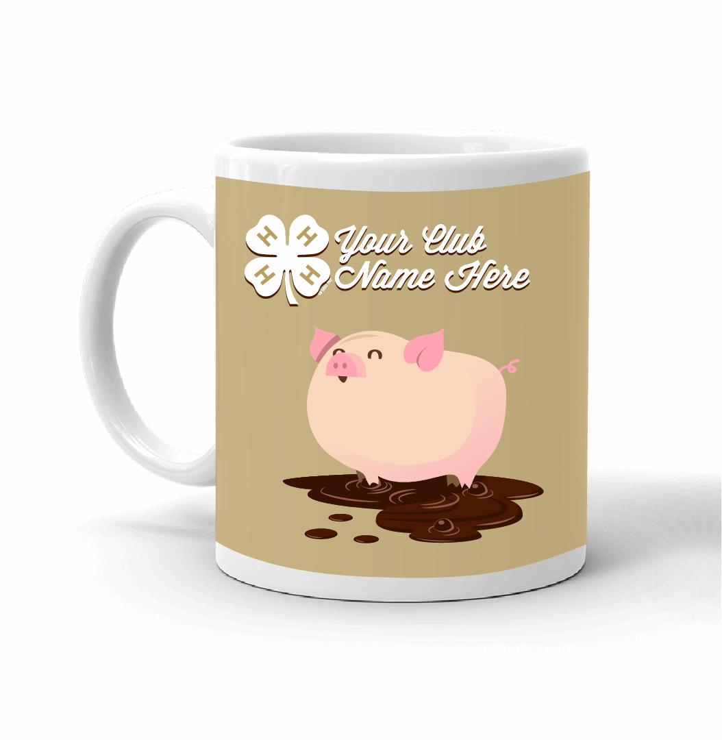 4 H Mug Happy Pig Sp7534 4 H Store