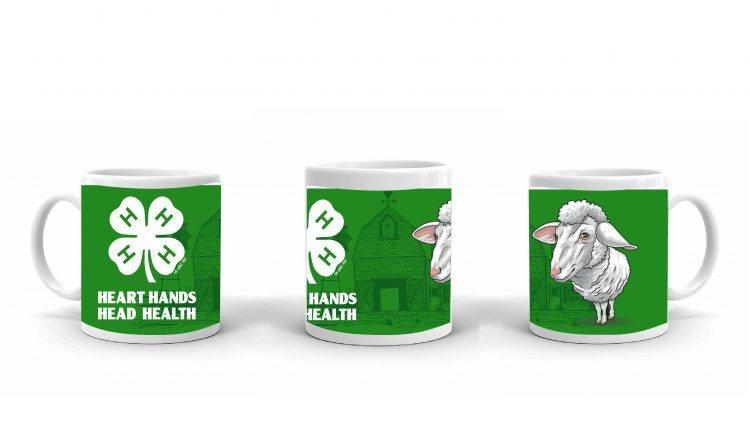 4-H Coffee Mug - 4-H Club sheep