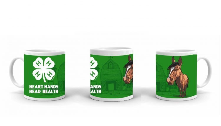 4-H Coffee Mug - 4-H Club horse