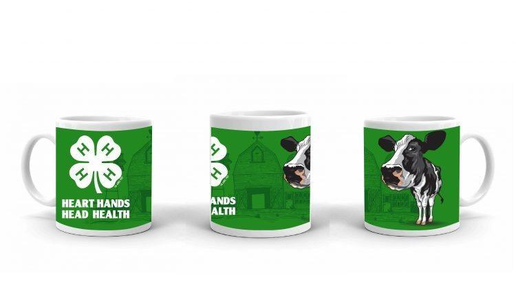 4-H Coffee Mug - 4-H Club dairy cow