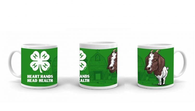 4-H Coffee Mug - 4-H Club goat