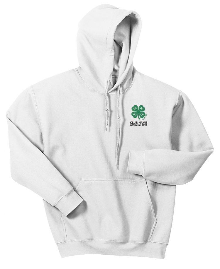 4-H logo hoodie