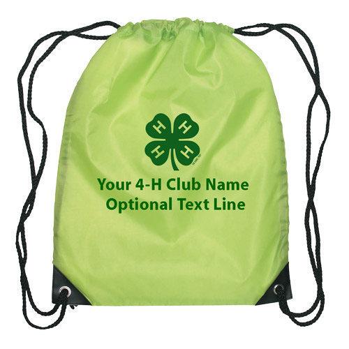 4-h drawstring bag