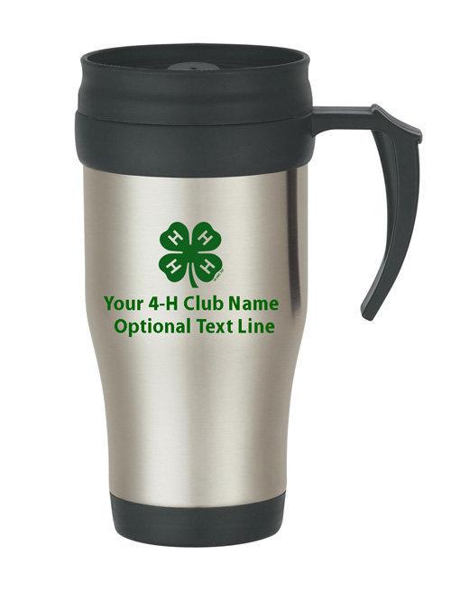 4-h steel mug