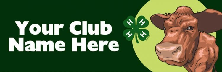 4-h bumper sticker -