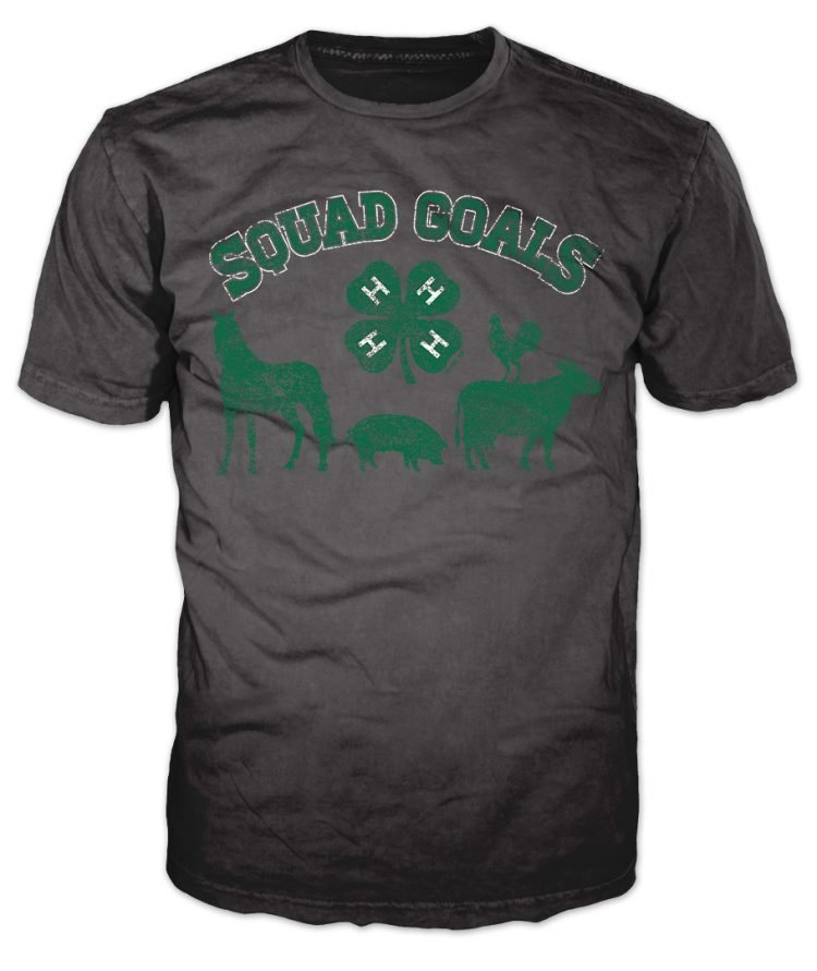 4-h graphic tee