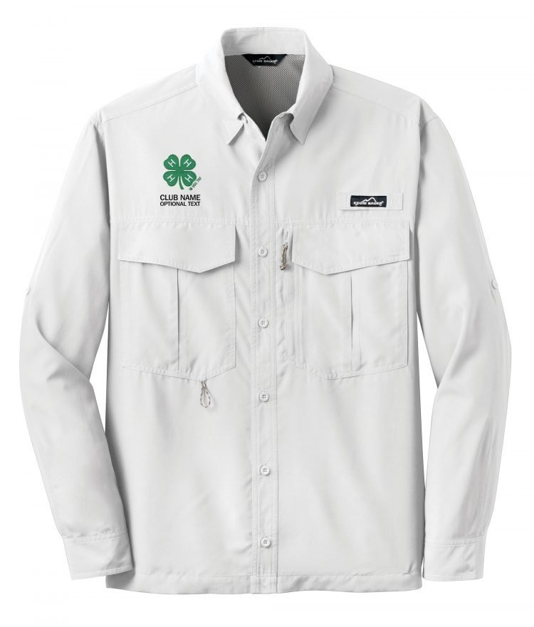 4-H logo fishing shirt