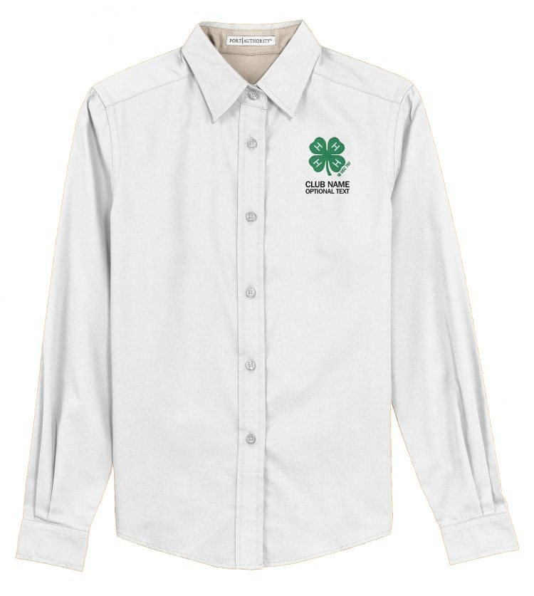 4-H logo dress shirt