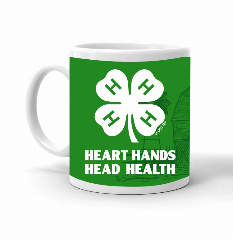 4-H Coffee mug - 4-h logo