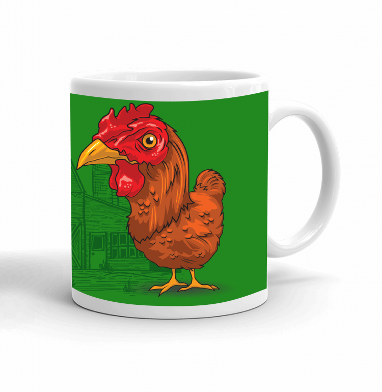 4-H Coffee mug - chicken