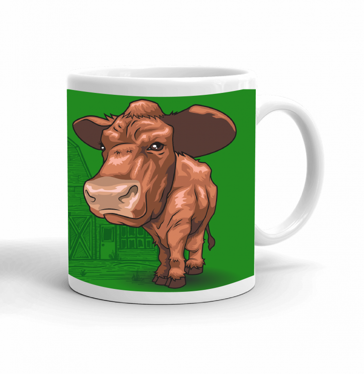 4-H Coffee mug - beef cattle
