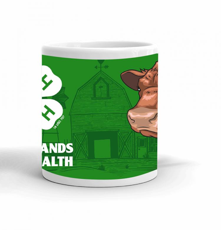 4-H Coffee mug - beef cattle
