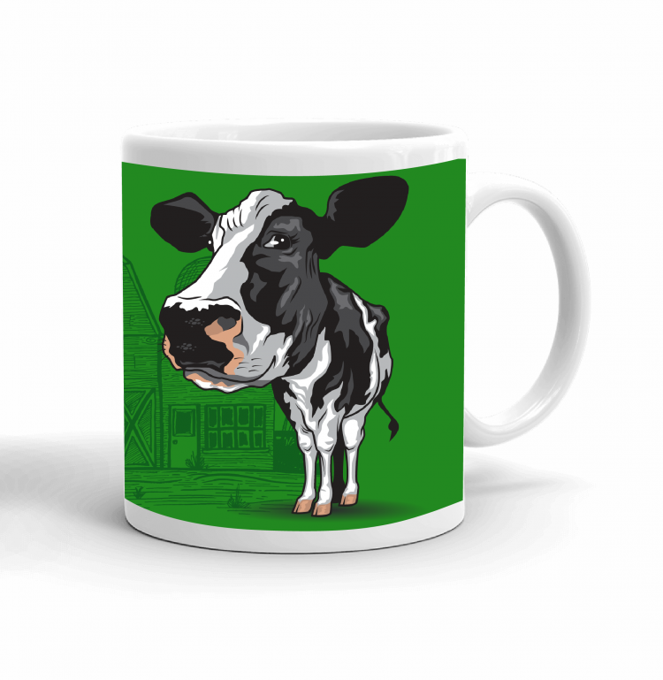 4-H Coffee mug - dairy cow