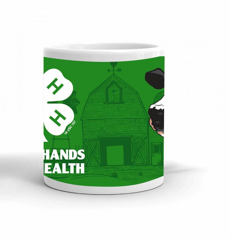 4-H Coffee mug - dairy cow