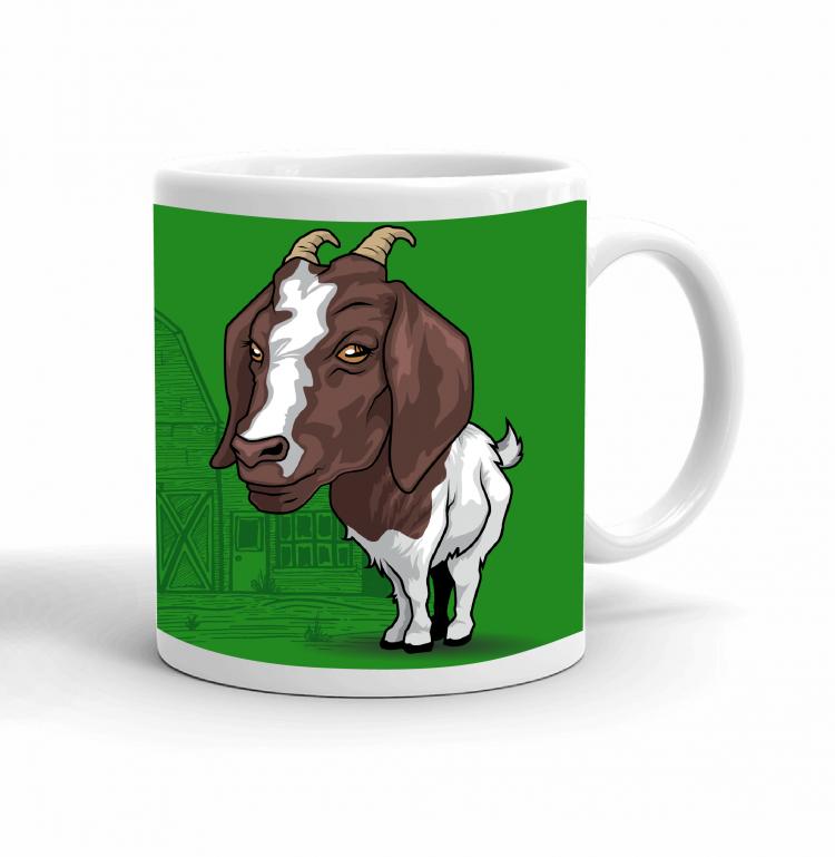 4-H Coffee mug - goat
