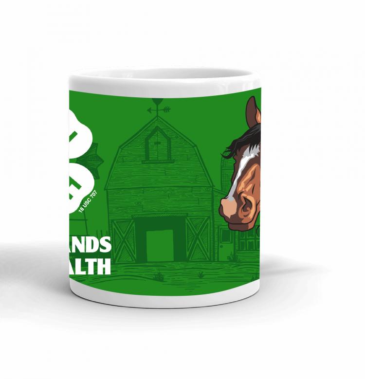 4-H Coffee mug - horse