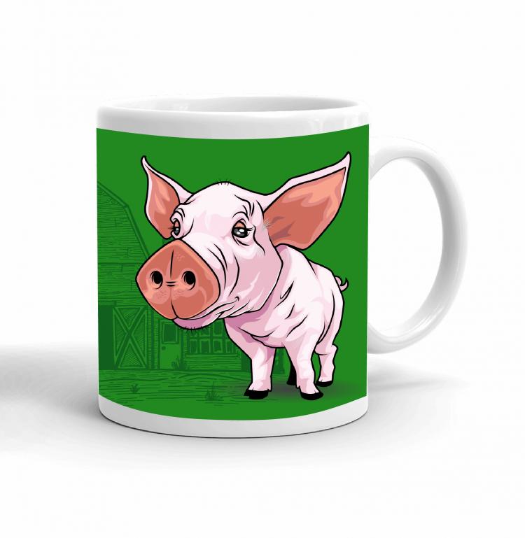 4-H Coffee mug - pig