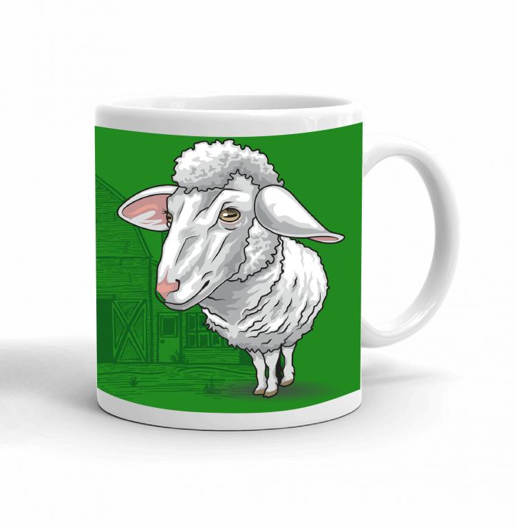 4-H Coffee mug - sheep