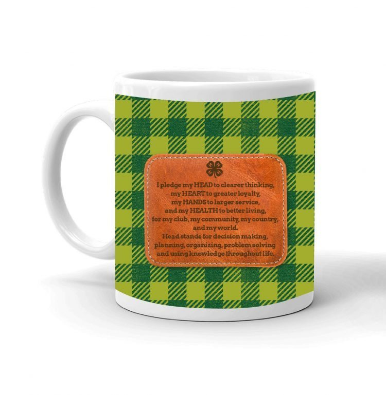 4-H Coffee mug - pledge