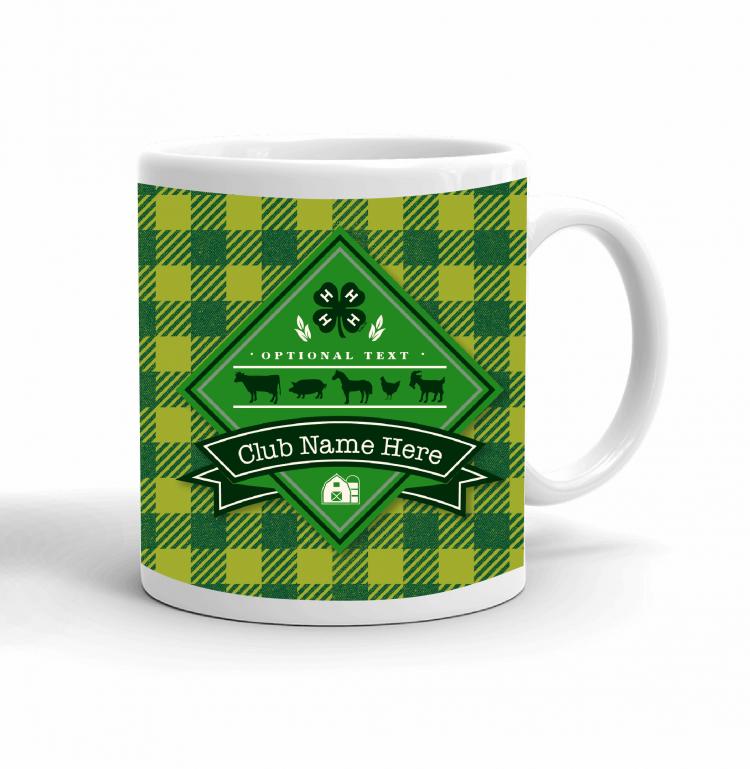 4-H Coffee mug - pledge
