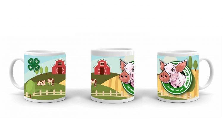 4-H Coffee Mug - 4-H Club pig