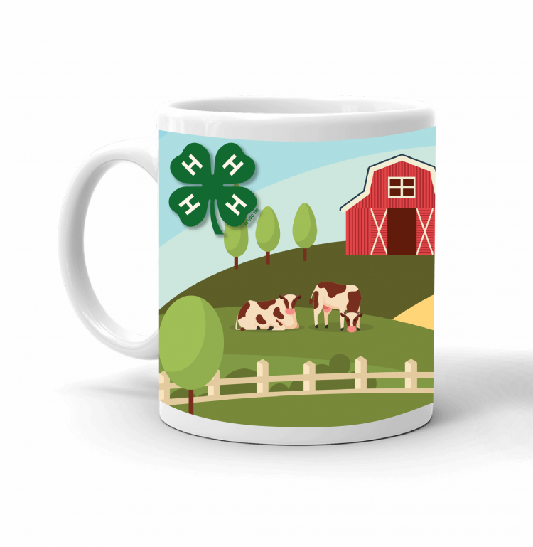 4-H Coffee mug - 4-H landscape