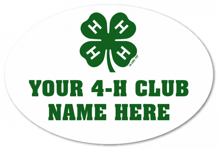 4-h magnet - 4-h club
