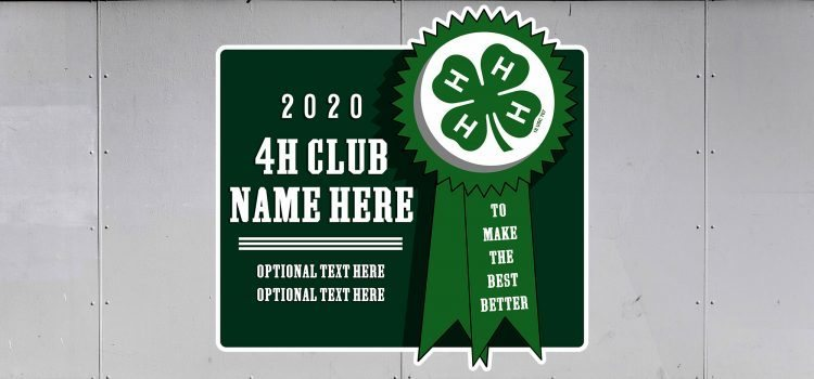 4-H Trailer Graphics - 4-H Club