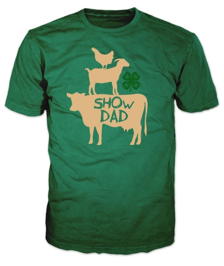 4-H Graphic Tee - Show Dad