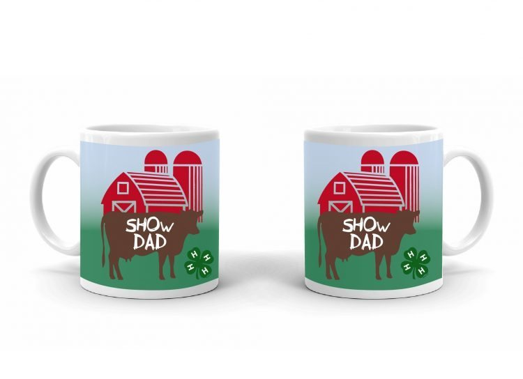 4-H Coffee Mug - 4-H Dad Cattle